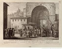 ingresso s ingresso delle truppe francesi in firenze per la porta a s gallo