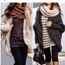warm winter sweaters cozy winter ahhhh the big sweaters and big scarves