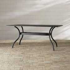 patio table with removable tiles umbrella hole patio tables you ll love wayfair