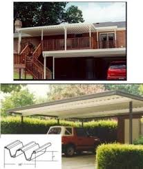 Patio Attached To The House Wall Attached Patio Cover Kits Aluminum Carport U0026 Patio Cover