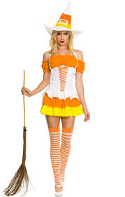 candy corn witch costume n9187