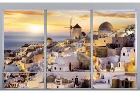 mural french window overlooking santorini night 2 wallpapers mural french window overlooking santorini night 2