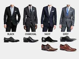 how to pick shoes for every color suit business insider