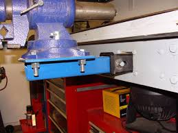 Install Bench Vise Hitch Tube Vise Mount Question The Garage Journal Board