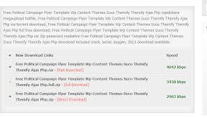 3 free political campaign flyer templates af templates