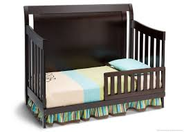 delta convertible crib toddler rail delta madisson 4 in 1 convertible crib espresso walmart canada