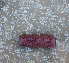 printed paint roller pattern paint roller interesting pattern paint roller with