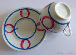 porcelaine peinte main tasse à café en porcelaine de limoges l u0027 atelier porcelaine