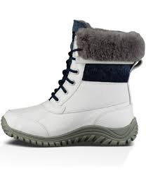 ugg boots at dillards lyst ugg adirondack ii cold weather wool cuff lace up boots in