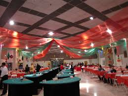 party people event decorating company christmas party lake mirror