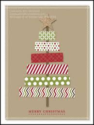 digital washi tape christmas tree card by wip paper crafts cards