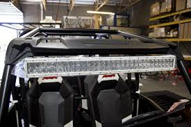 Led Light Bar Utv by Utv Inc Polaris Rzr Xp 1000 U0026 900s Under Roof 30