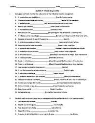 realidades 3 ch 7 grammar quiz practice subjunctive and pero