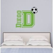 Sports Decals For Kids Rooms by Aiwall Fb 001 Soccer Ball Football Wall Stickers Home Decor Wall