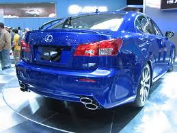 isf lexus blue lexus is f 2568571