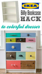 Ikea Billy Bookcase Hack Ikea Billy Bookcase To Drawer Hack Infarrantly Creative