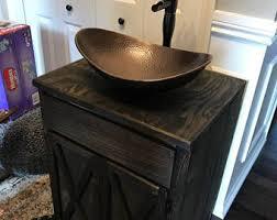 Bathroom Vanity Bowl Sink Bathroom Vanities Etsy