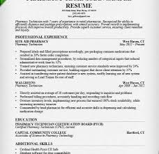 Pharmacy Resume Template Pharmacy Resume Examples Resume Example And Free Resume Maker