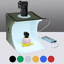 light boxes for photography display amazon com mini photo studio box puluz 20cm portable photography