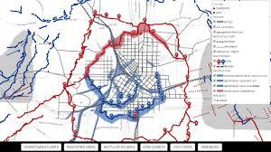Map Of Atlanta Digital Cartography 94 Visualoop