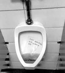 feminism club sign found in boys u0027 bathroom urinal u2013 torch