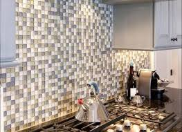 kitchen peel and stick stone backsplash self adhesive wall tiles
