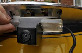 wireless reversing camera installation