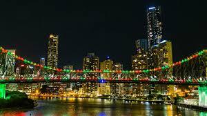 story bridge light colours visit brisbane