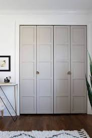 Standard Bifold Closet Door Sizes 35 Shockingly Simple Ways To Hack An Interior Door Bi Fold