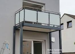 glas balkon 3 x 2 m balkon anbaubalkon vorstellbalkon pulverbeschichtet
