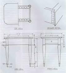 Side Table Plans Sheraton Side Table Plans U2022 Woodarchivist
