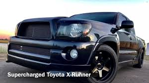toyota tacoma supercharged toyota tacoma x runner supercharged