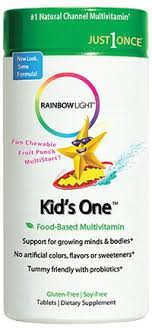 rainbow light kids one rainbow light nutritional systems kids vitamins kids one