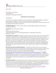 resume cover letter examples pharmacist