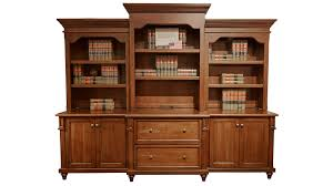 Henredon King Bedroom Set With Bridge Cherry Fc3176 Hutch And Credenza Gallery