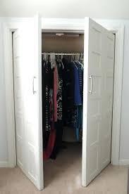 Cheap Bifold Closet Doors Closet Doors Alternative Using Accordion Closet Doors To Image Of