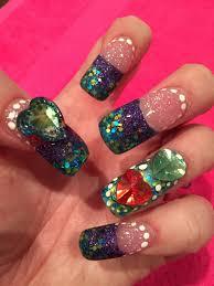 acrylic holiday nails youtube