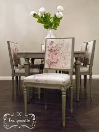 unusual vintage hand painted high chair with roses picture ideas