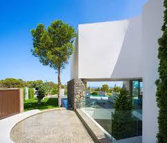 gestec designs a spacious contemporary home in finestrat spain