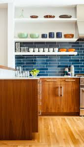 Blue Kitchen Walls by Best 20 Blue Subway Tile Ideas On Pinterest Glass Subway Tile