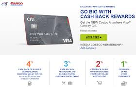 which visa credit card should you use at costco one mile at a time