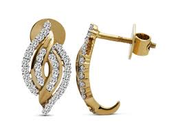 real diamond earrings gold diamond earrings for women real diamond earrings price