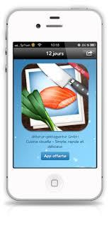 cuisine visuelle les 12 jours de cadeaux itunes l application cuisine visuelle