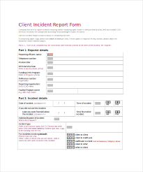 patient incident report form template sle incident report template 23 free documents in
