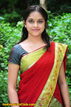 Cute Telugu Actress Manasara Sri Divya in Half Saree HQ manasara