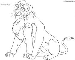 lion king coloring page wallpaper 2886 free coloring pages