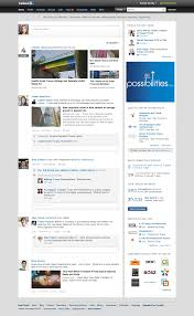 introducing a simpler homepage official linkedin blog