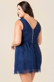 Navy Blue Lace Dress Plus Size Navy Blue Plus Size Matilda Lace Dress Francesca U0027s