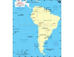south america map buy buy south america longitude and latitude map with countries