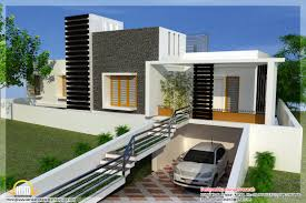 Modern Floor Plans For New Homes by Mix Modern Home Designs Kerala Home Design And Floor Plans Modern